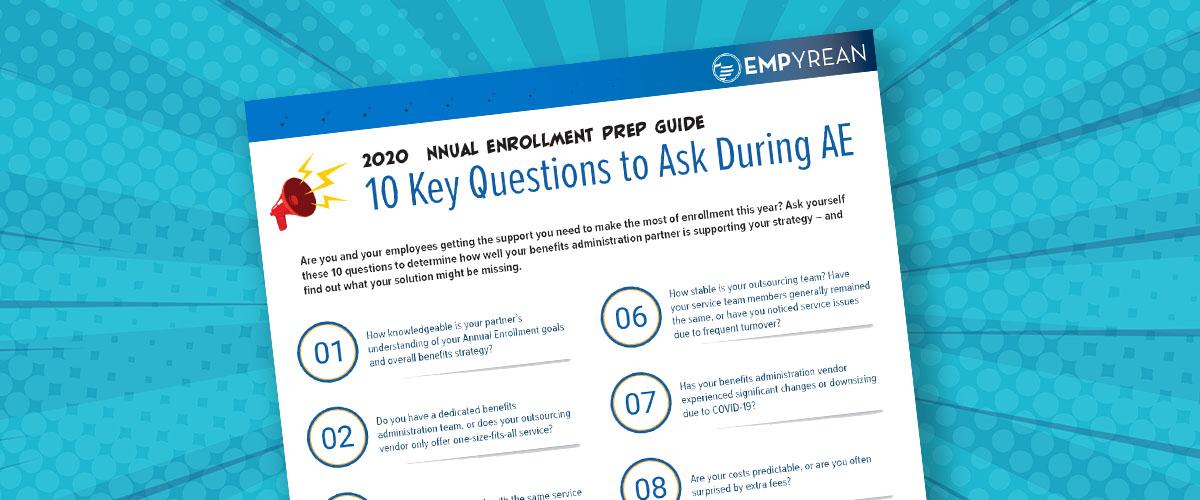 2020 Annual Enrollment Prep Guide